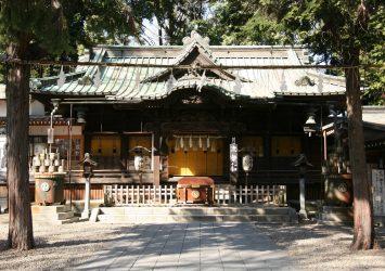 調神社 埼玉の風景