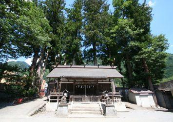 奥多摩の神社 奥氷川神社 東京の風景