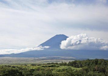 九月の富士山 静岡の風景
