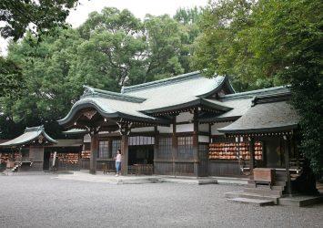 熱田神宮 愛知の風景