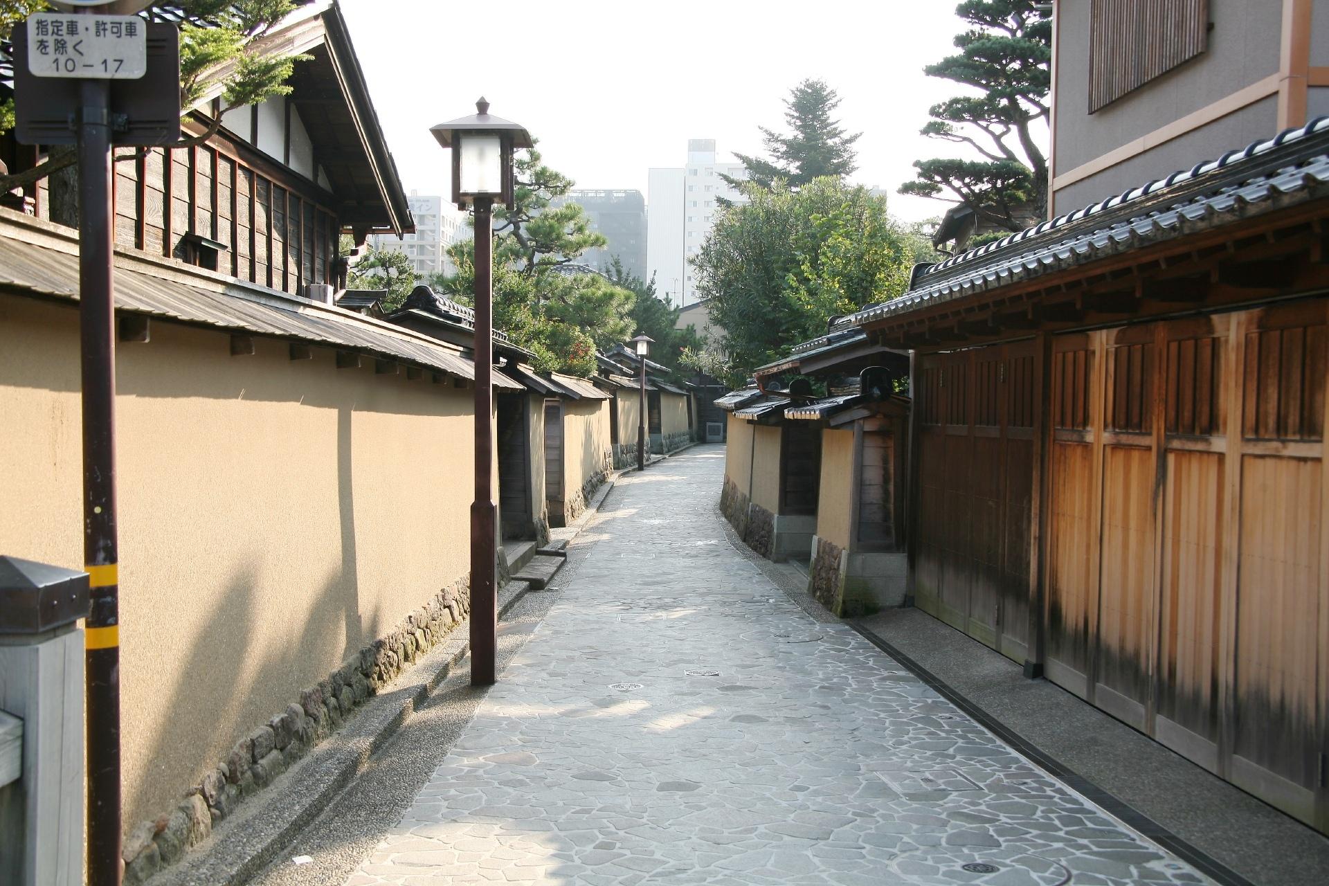 金沢 「長町武家屋敷通り」の風景 石川の風景