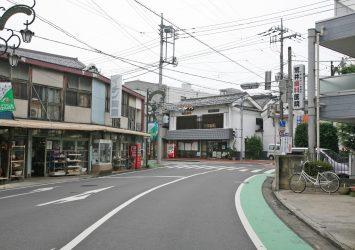 飯能の町並み 埼玉の風景