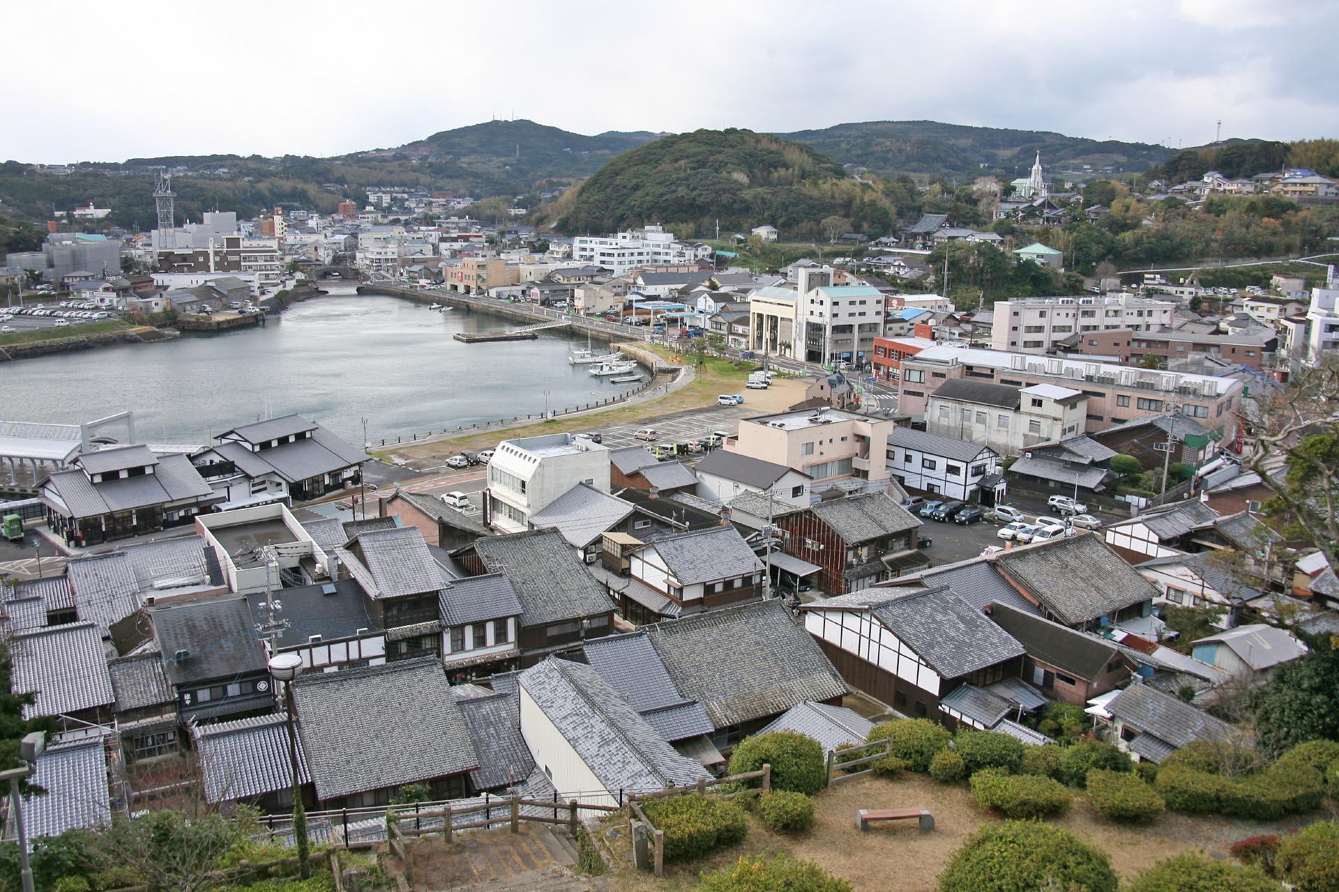 平戸の風景 長崎の風景