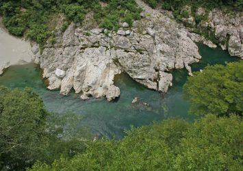 小歩危峡の風景 徳島の風景
