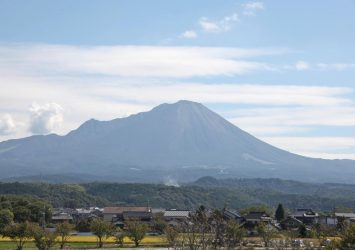 大山 鳥取の風景