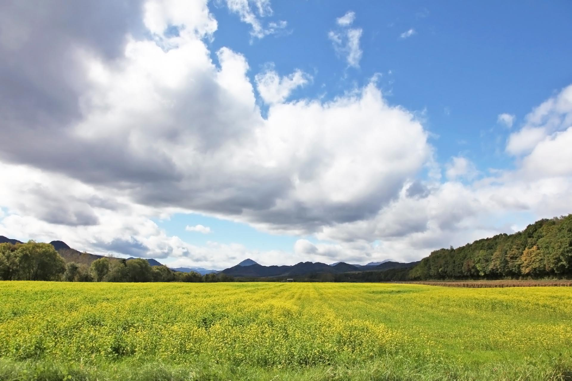 留辺蘂 北海道の風景