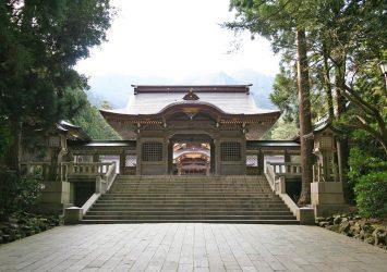 弥彦神社 新潟の風景