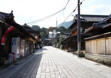 慈尊院参道 和歌山の風景