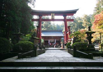 北口本宮冨士浅間神社 山梨の風景