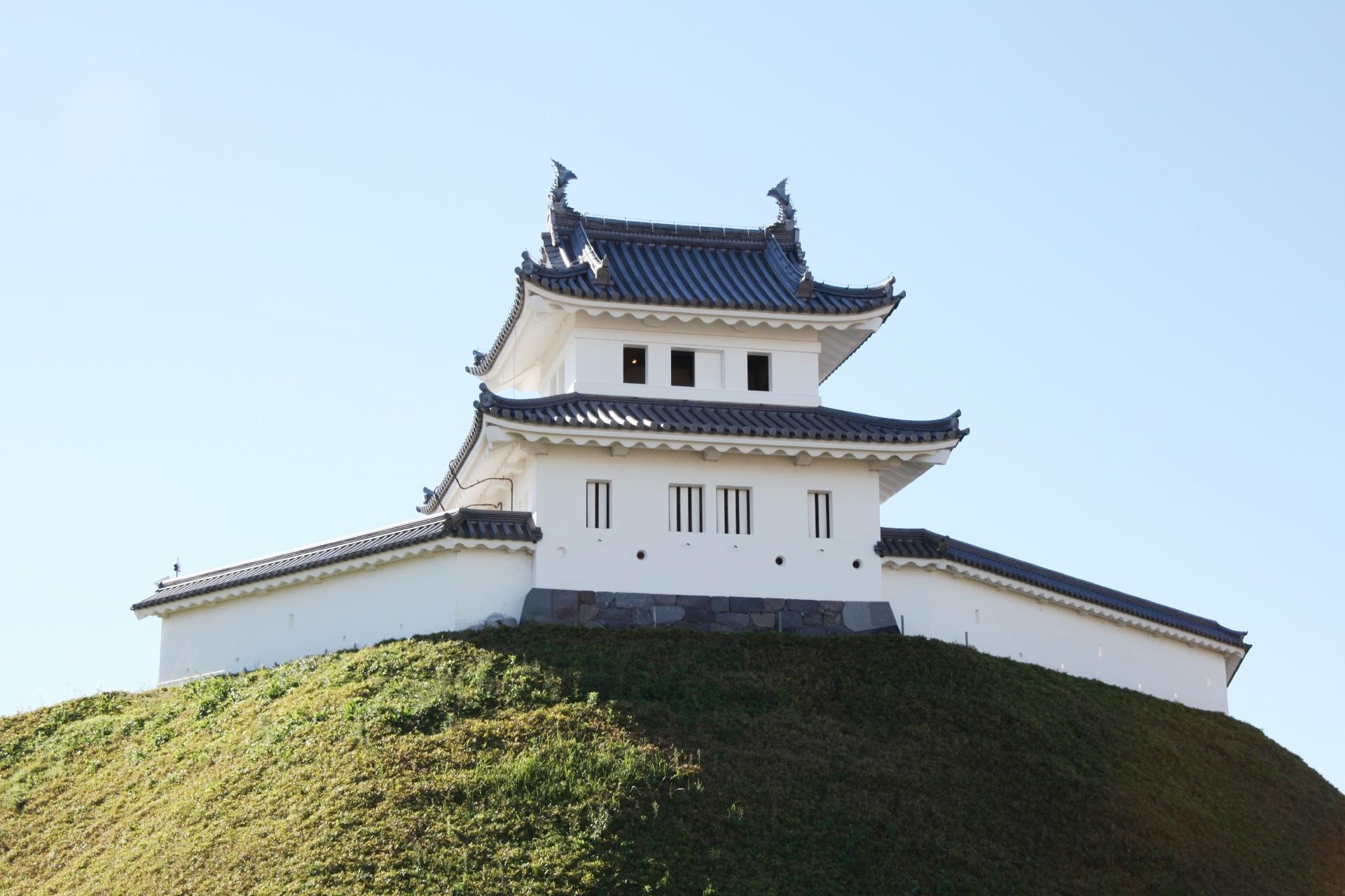 宇都宮城 栃木の風景