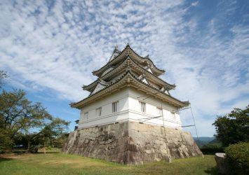 宇和島城 愛媛の風景