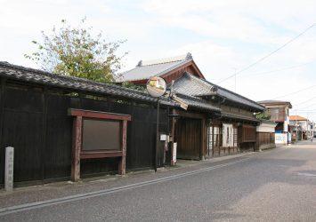 日本の町並み 嘉右衛門町の風景 栃木の風景