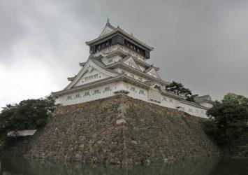 小倉城 福岡の風景