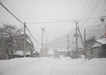 冬の積丹 北海道の風景