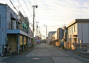 朝の竹原の町並み 広島の風景