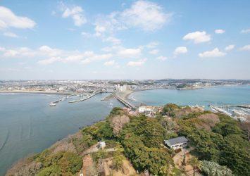 春の江の島 神奈川の風景