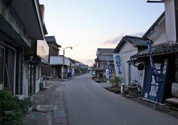 鹿島市浜中町八本木宿 佐賀の風景