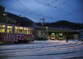 冬の札幌の風景 北海道の風景