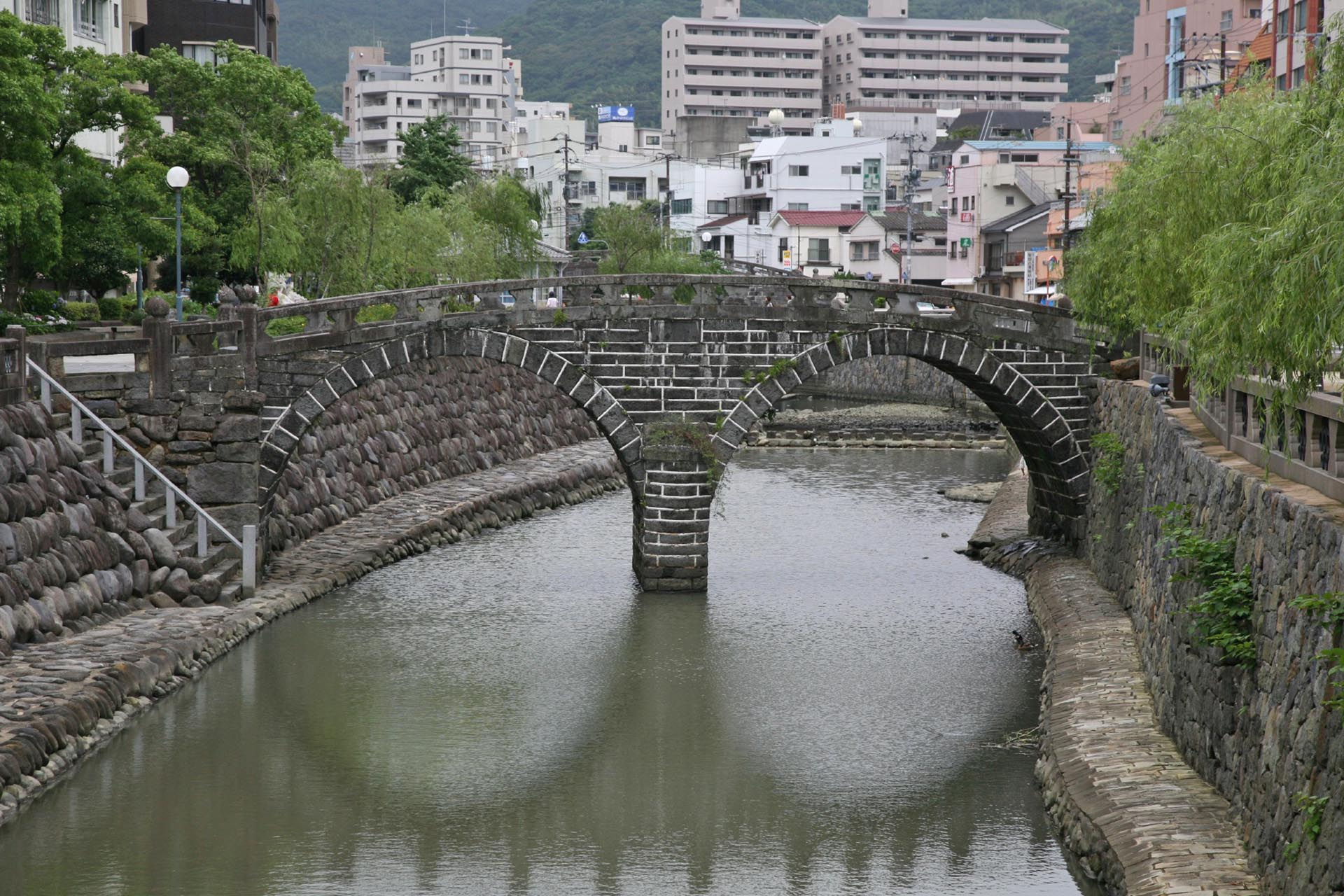 眼鏡橋 長崎の風景