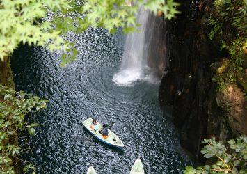 高千穂峡 宮崎の風景