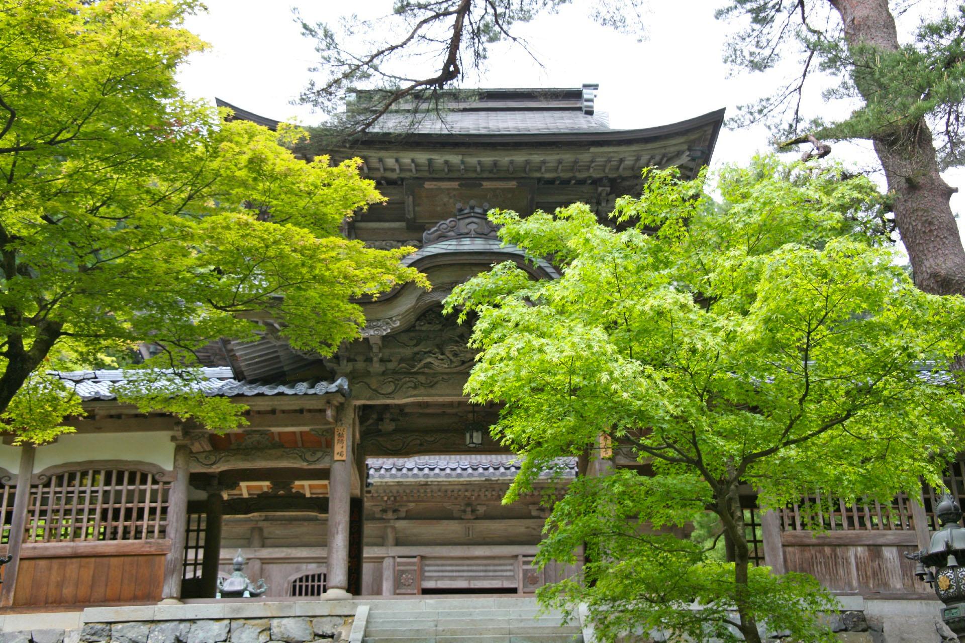 初夏の永平寺 福井の風景