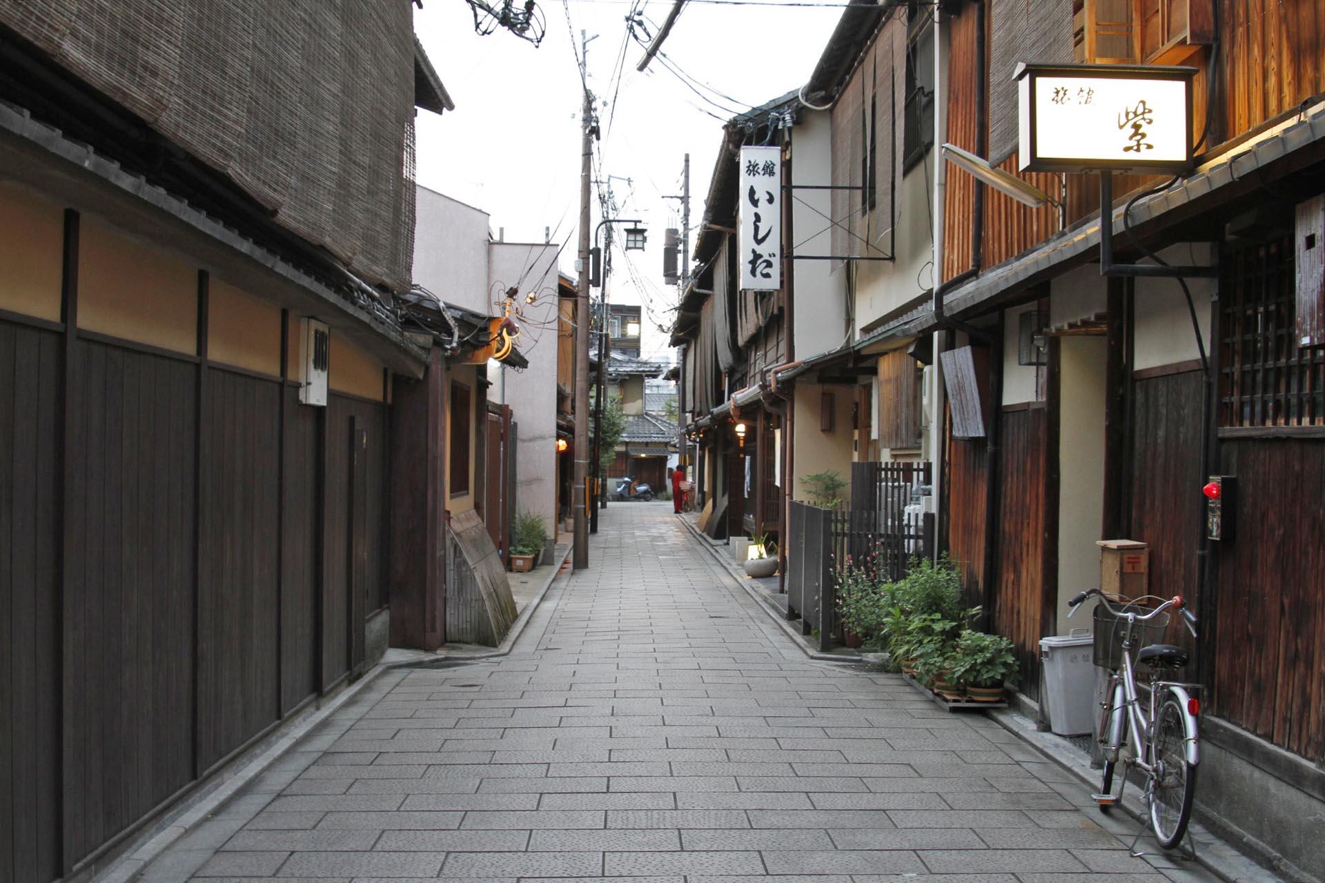 祇園の町並み 京都の風景