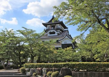 犬山城 愛知の風景