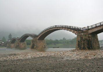 錦帯橋 山口の風景