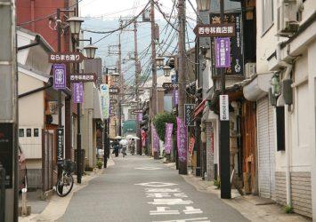 奈良の町並み 奈良の風景