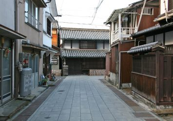 安芸の小京都 たけはらの町並み 広島の風景