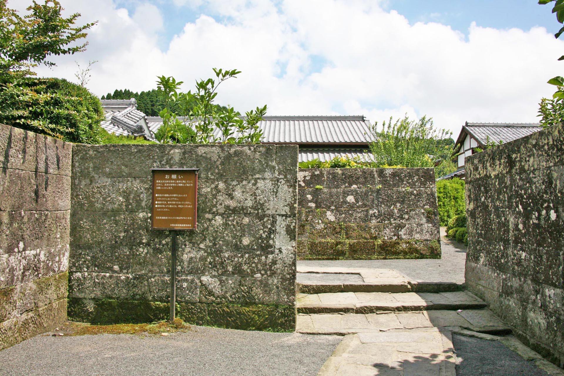 知覧武家屋敷 鹿児島の風景
