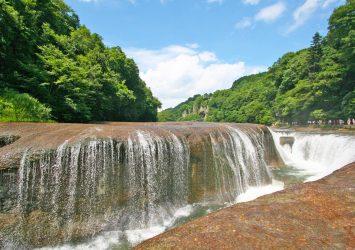 吹割の滝 群馬の風景