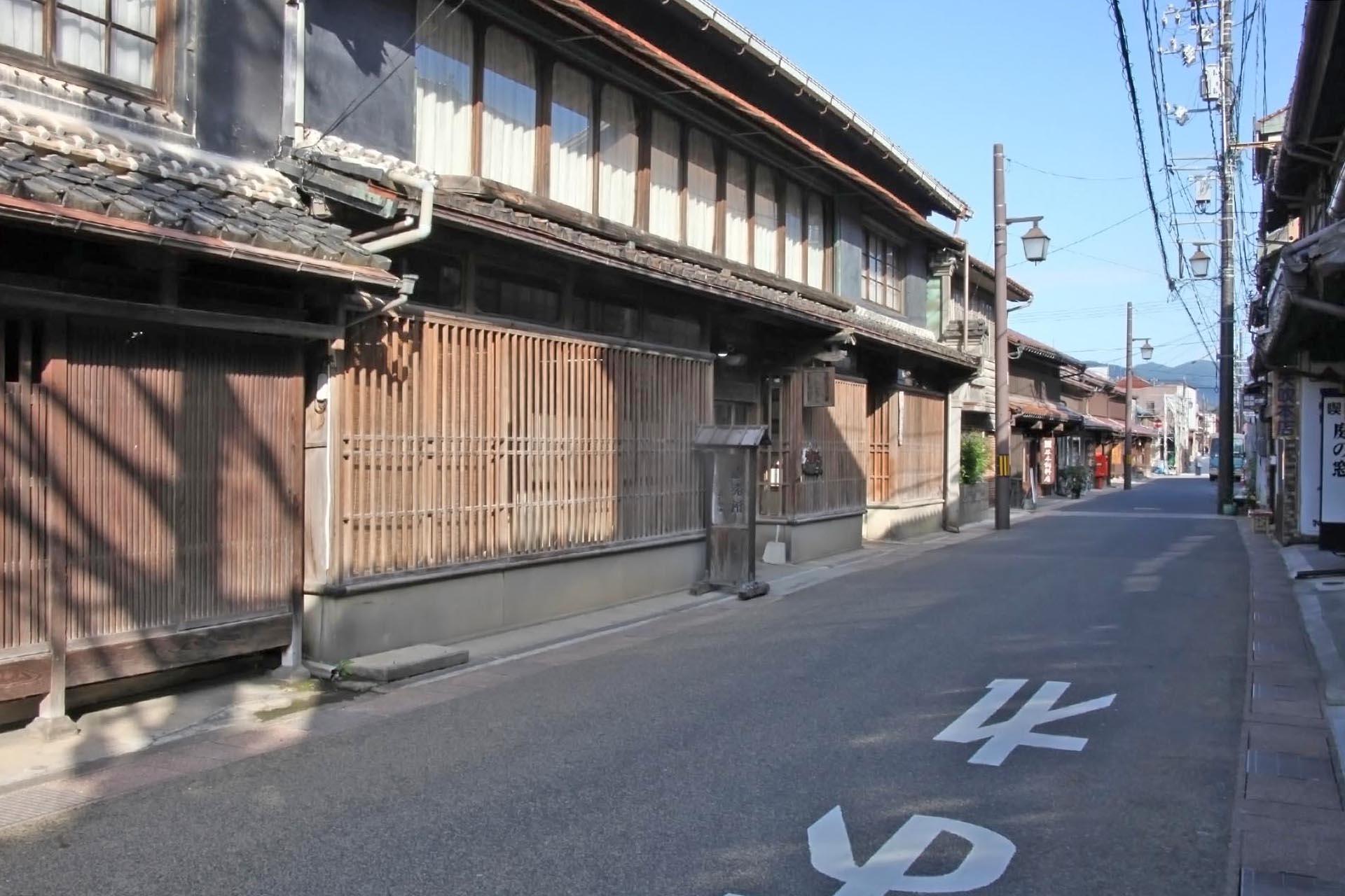 倉吉の町並み 鳥取の風景