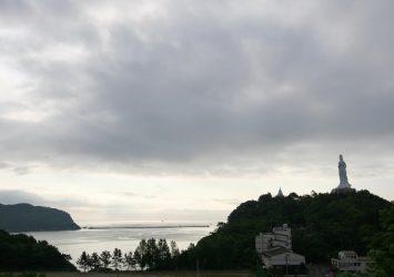 朝の三陸 釜石の風景 岩手の風景