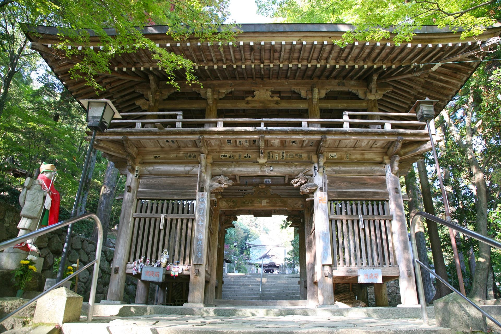 大窪寺 香川の風景