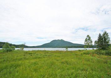 尾瀬沼と燧ヶ岳 福島の風景