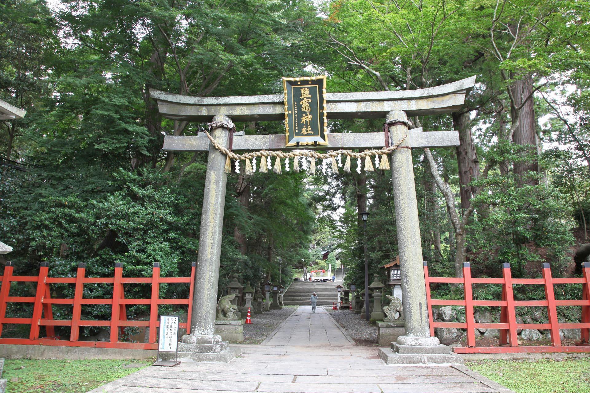 鹽竈神社 宮城の風景