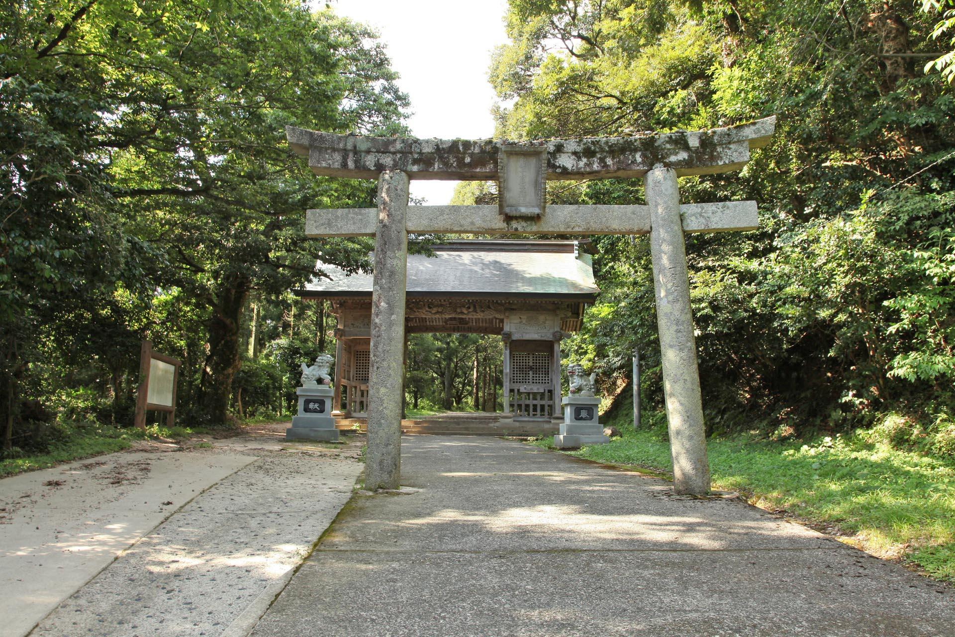 倭文神社 鳥取の風景