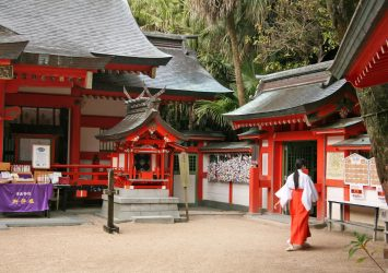 青島神社 宮崎の風景