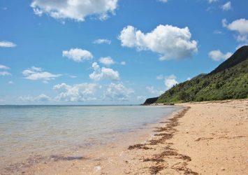 南風見田の浜 西表島 沖縄の風景