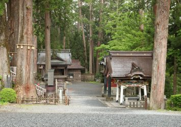 三峯神社 埼玉の風景