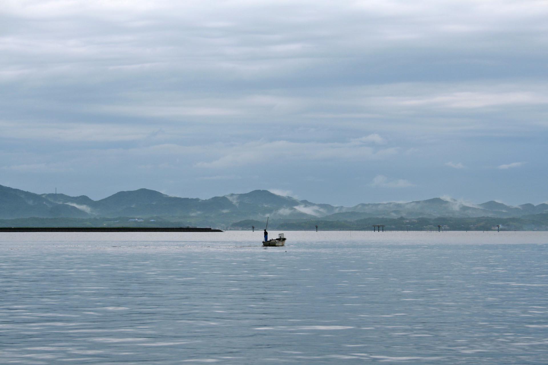 宍道湖の風景 島根の風景