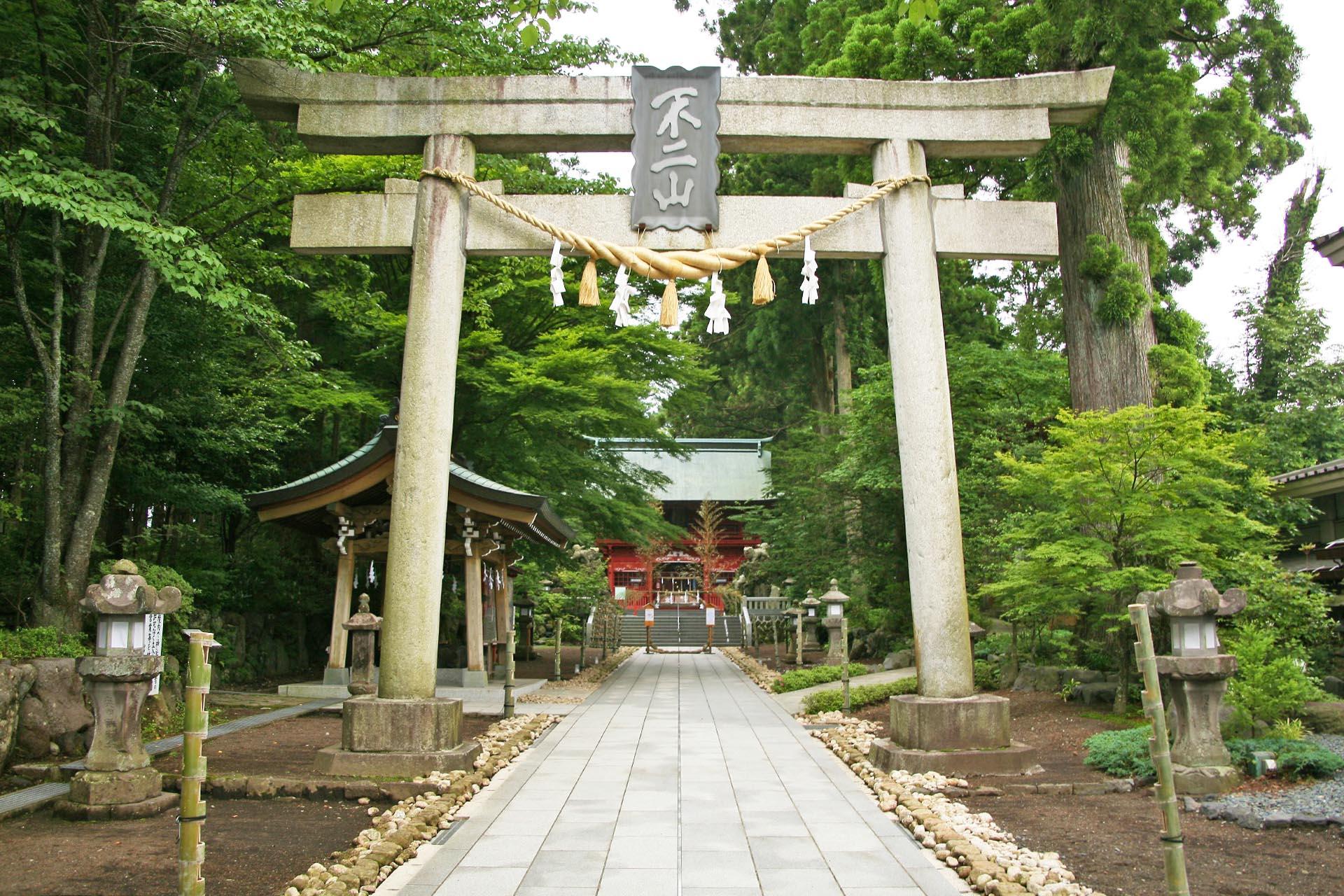 東口本宮冨士浅間神社 静岡の風景