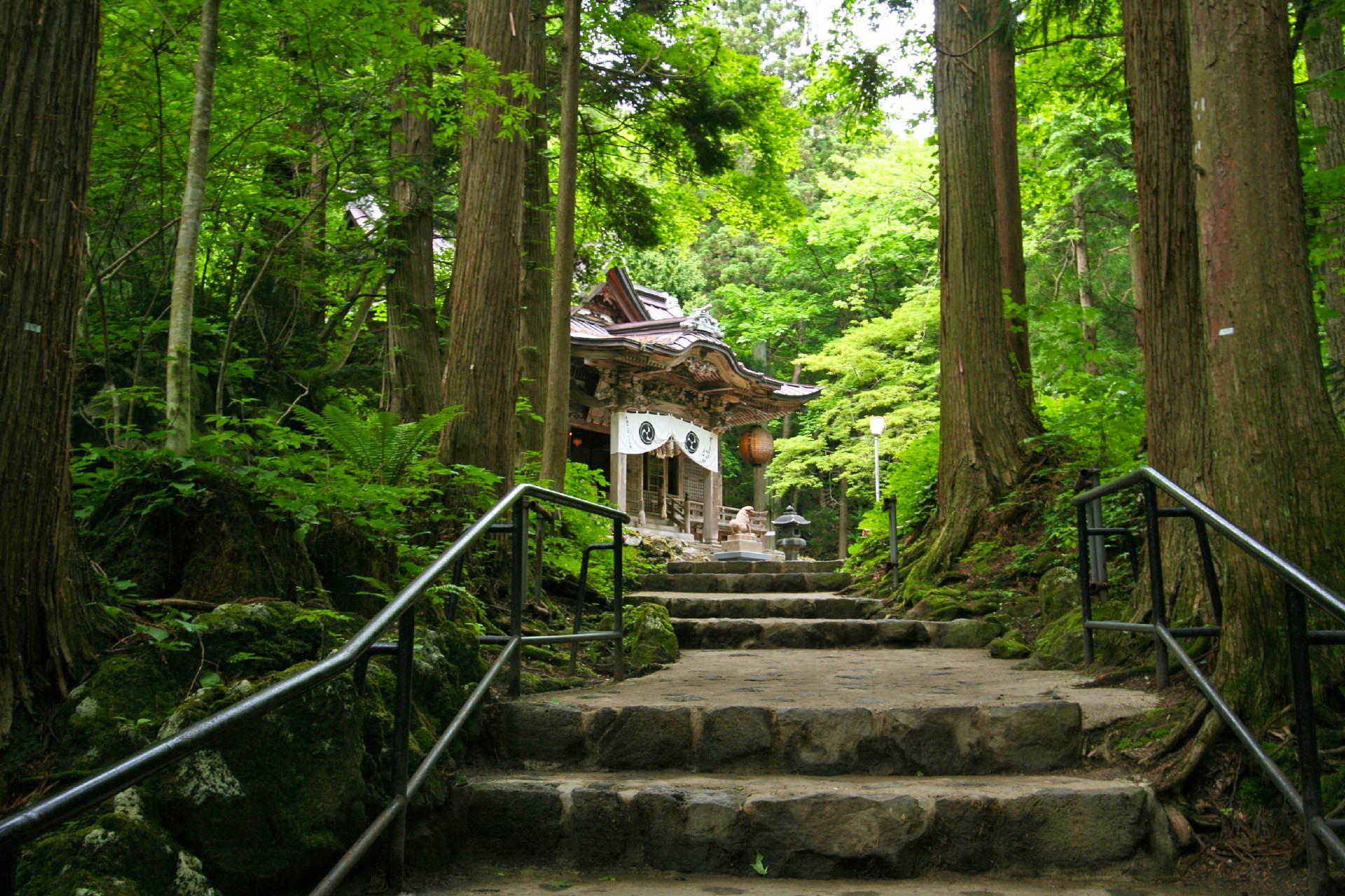 十和田神社 青森の風景