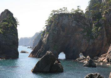 北山崎の風景 岩手の風景