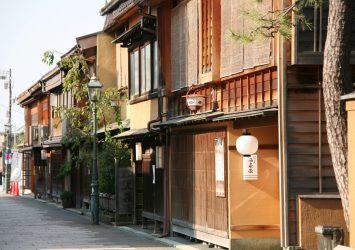 金沢 にし茶屋街の風景 石川の風景