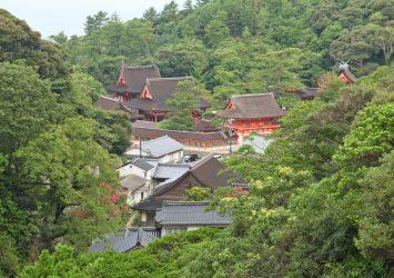 夏の日御碕神社 島根の風景