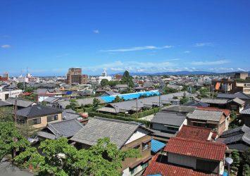 夏の松阪の風景 三重の風景