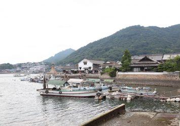 夏の鞆の浦 広島の風景