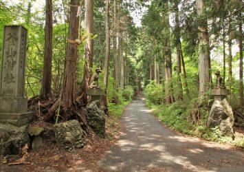 釜山神社 埼玉の風景
